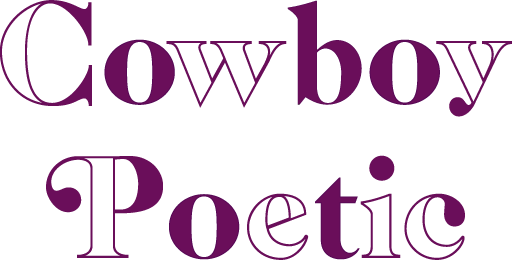logo cowboy poetic