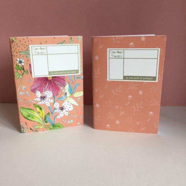 mini cahiers rose
