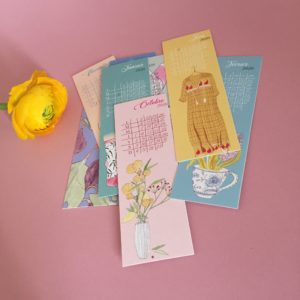 Calendrier marque-pages